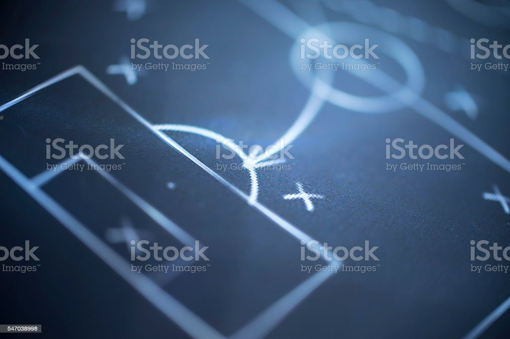 soccer chart stock photo