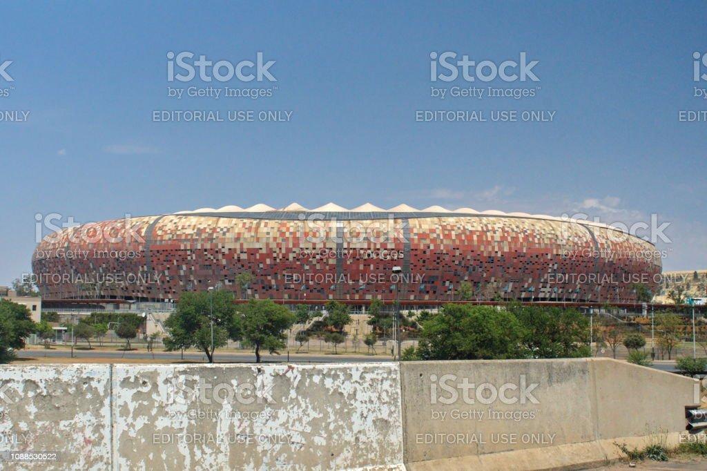 Soccer City Stadium Stock Photo - Download Image Now - iStock