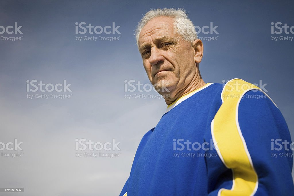 Soccer Coach royalty-free stock photo