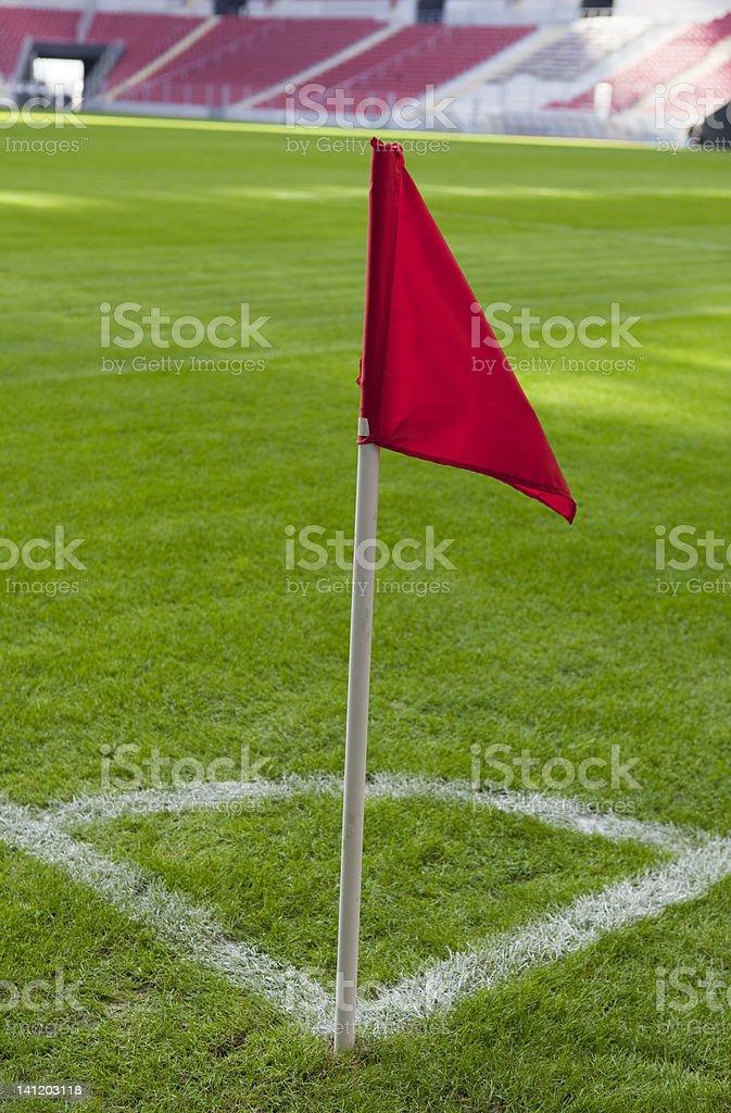 soccer corner stock photo