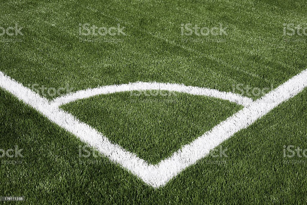 Soccer Corner royalty-free stock photo