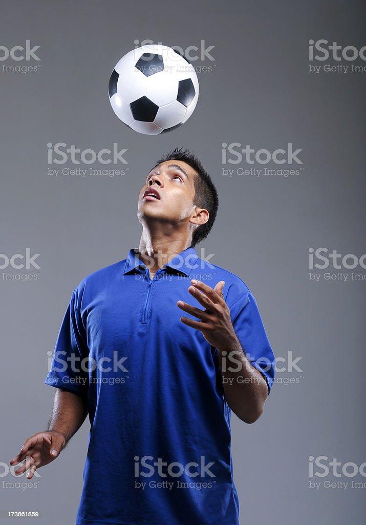 Soccer dude royalty-free stock photo