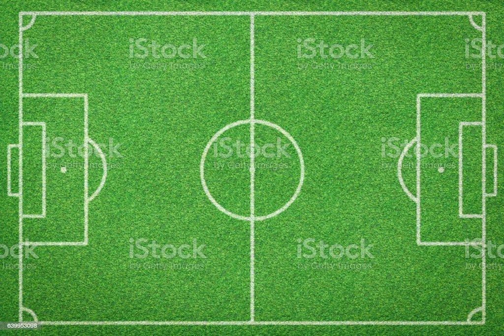 soccer field, football field stock photo