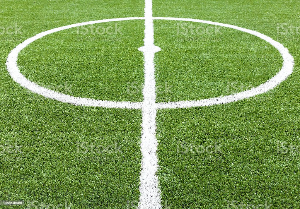 soccer field grass royalty-free stock photo