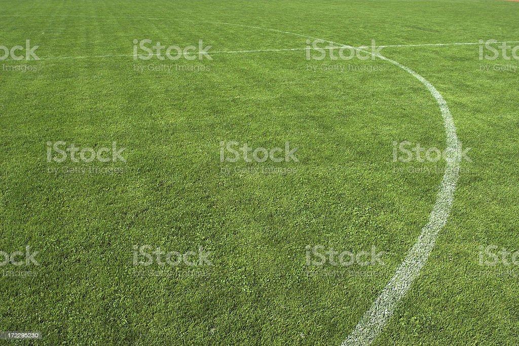 Soccer field III royalty-free stock photo