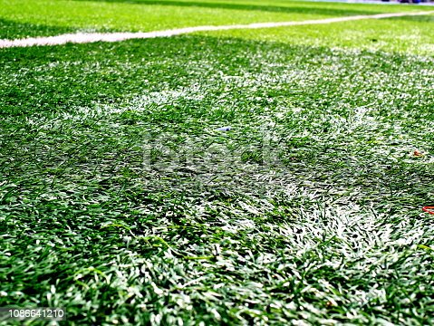 istock Soccer field 1086641210