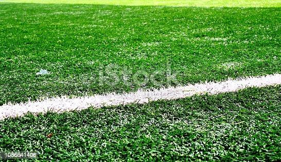 istock Soccer field 1086641408