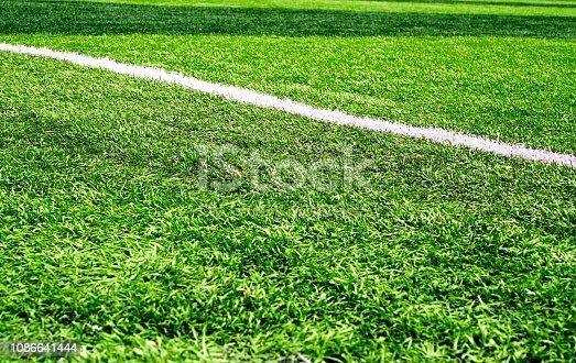 istock Soccer field 1086641444