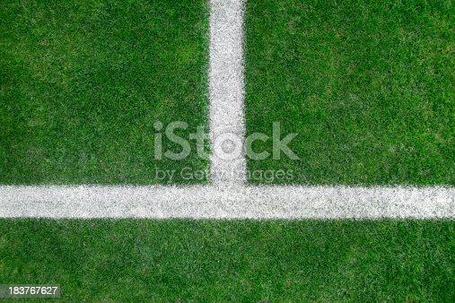 186856750 istock photo Soccer field 183767627