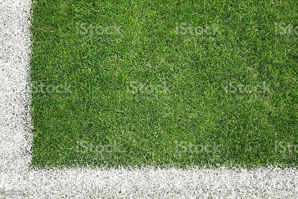 Soccer field royalty-free stock photo