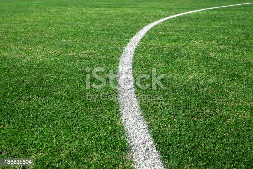 istock Soccer field 183835804