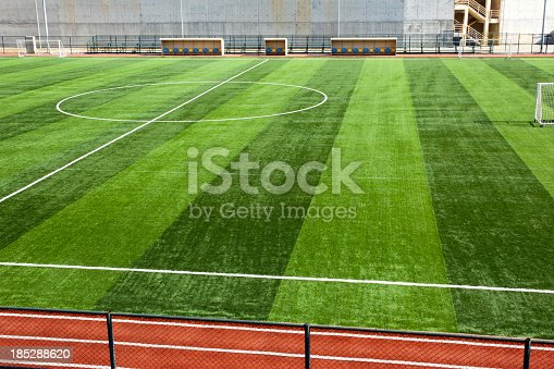 186856750 istock photo Soccer field 185288620