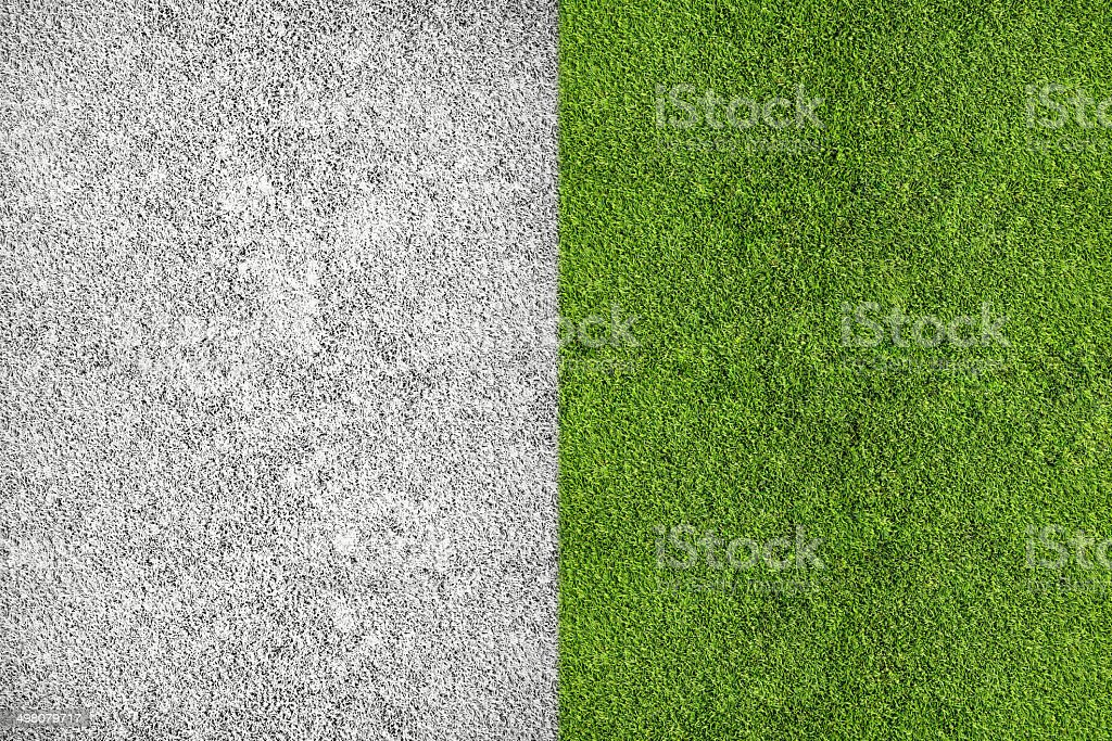 Soccer Field stock photo