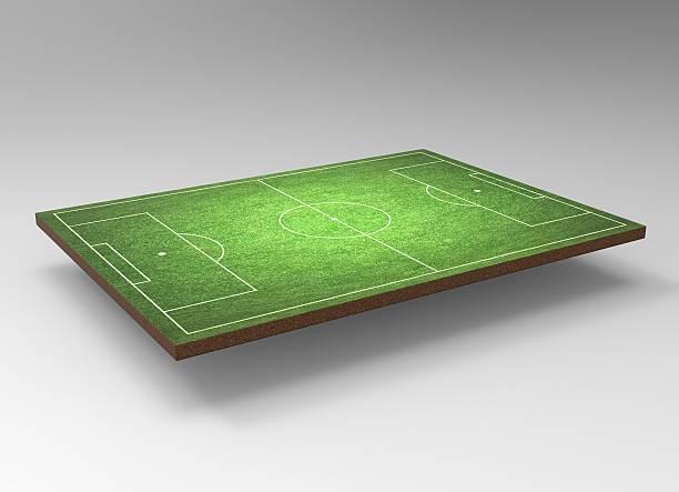 soccer field - gartenillustration stock-fotos und bilder