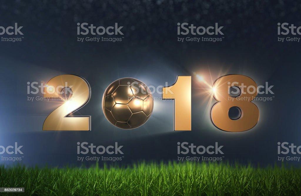 Fútbol Soccer 2018 - foto de stock