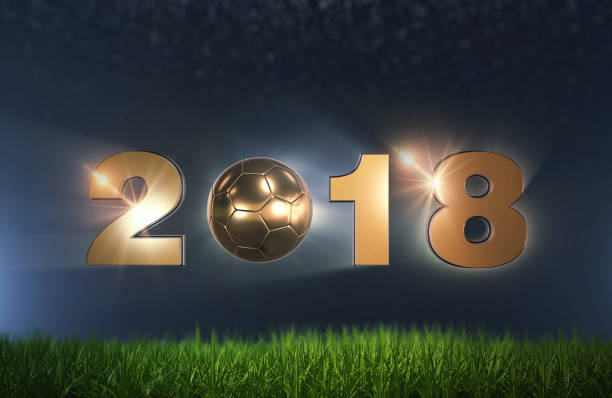 soccer football 2018 - sports championship stock photos and pictures