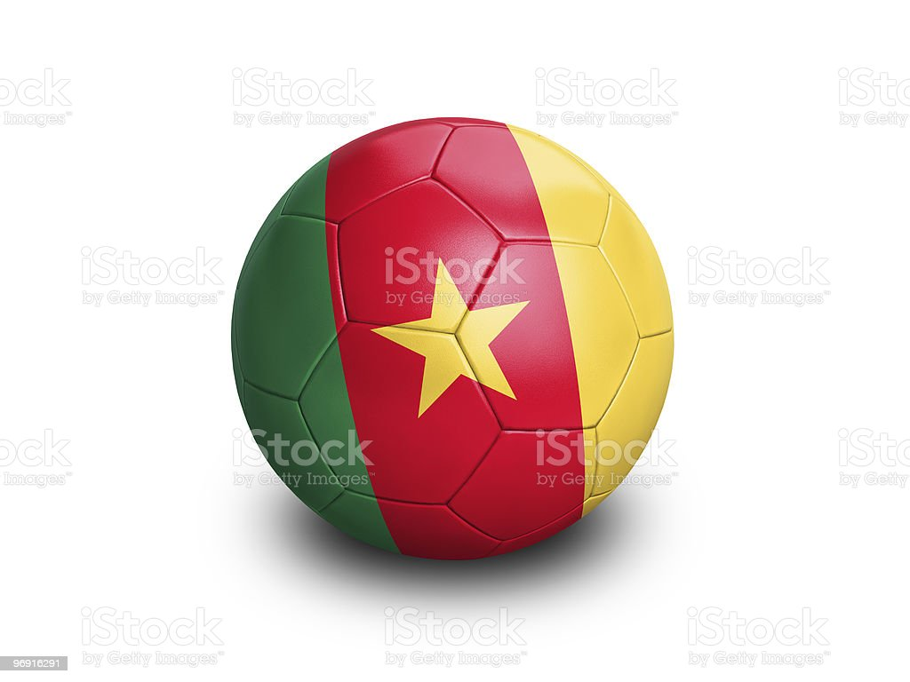 Soccer Football Cameroon royalty-free stock photo