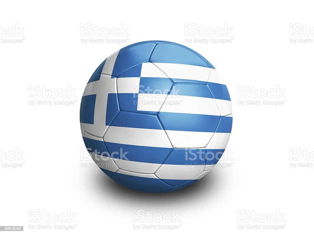 Soccer Football Greece royalty-free stock photo