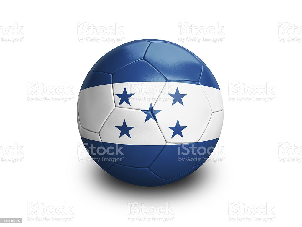 Soccer Football Honduras royalty-free stock photo
