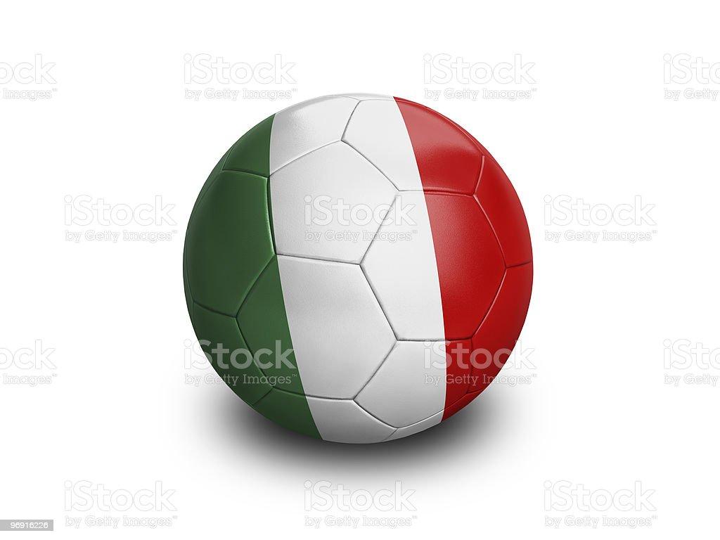 Soccer Football Italy royalty-free stock photo