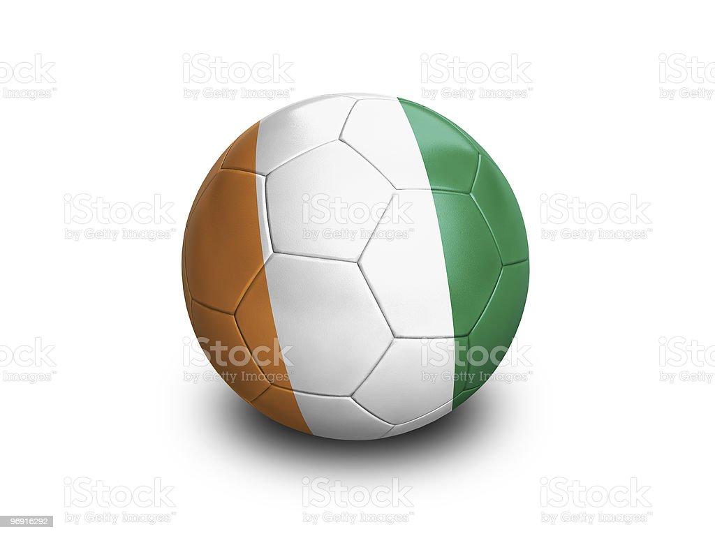 Soccer Football Ivory Coast royalty-free stock photo
