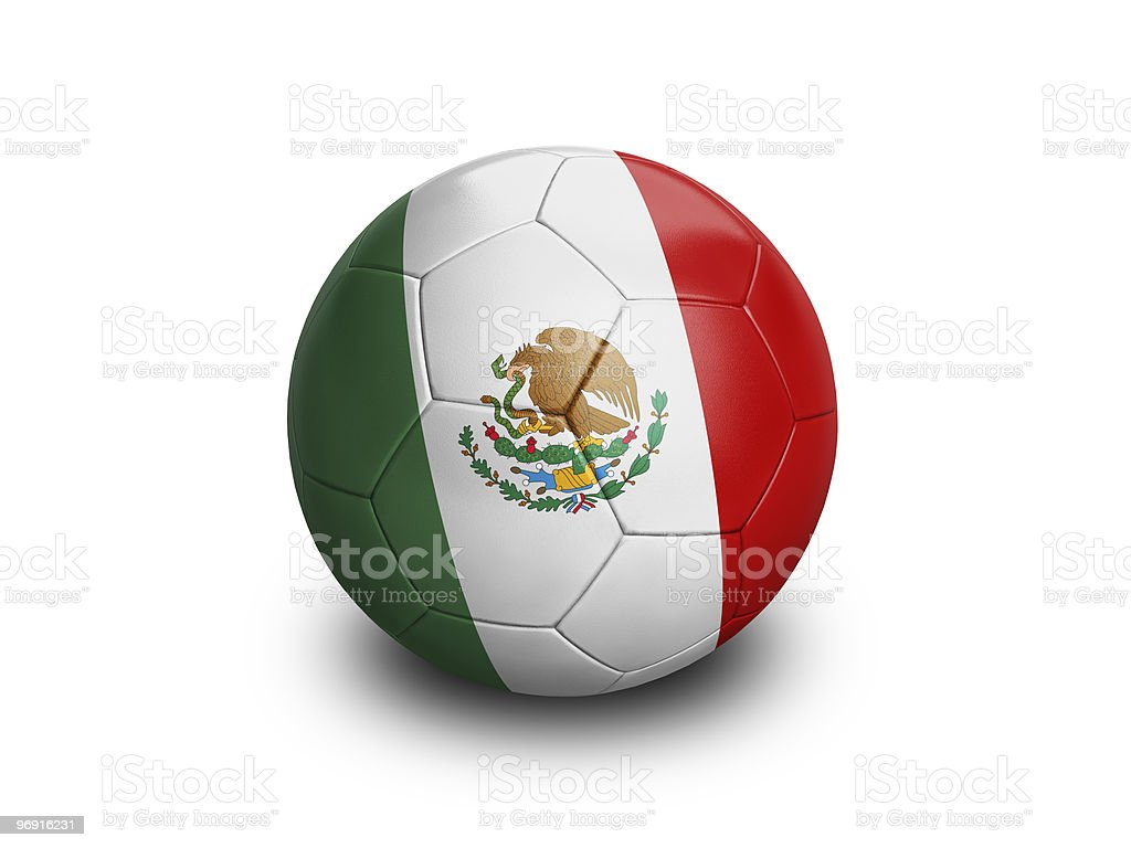 Soccer Football Mexico royalty-free stock photo