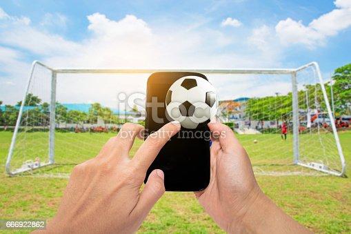 843298172 istock photo Soccer Football 666922862