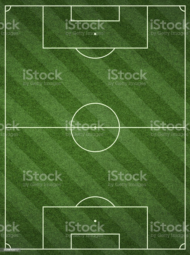 Soccer Football Pitch background textured royalty-free stock photo