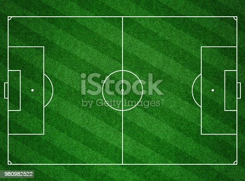 474672896 istock photo Soccer football pitch grass background 980982522
