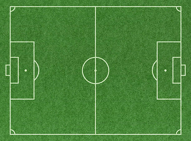 soccer football pitch - soccer field stock photos and pictures