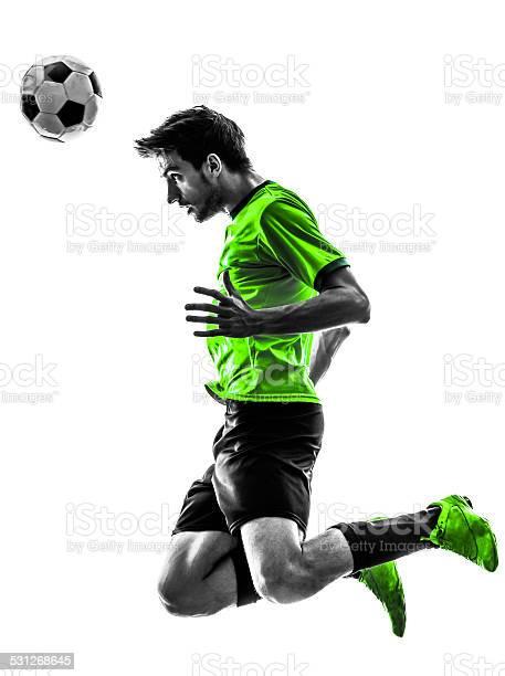 Soccer football player young man heading silhouette picture id531268645?b=1&k=6&m=531268645&s=612x612&h=yhjlfofpfkquqsbhvkaziironhnqnbsogmi1yni8o5g=