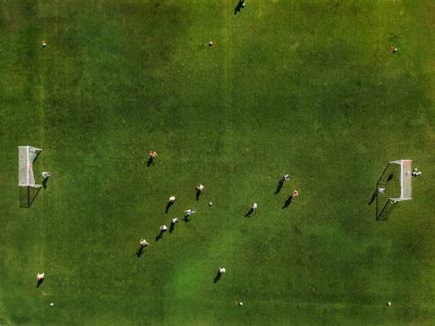 Fußball-Session – Foto
