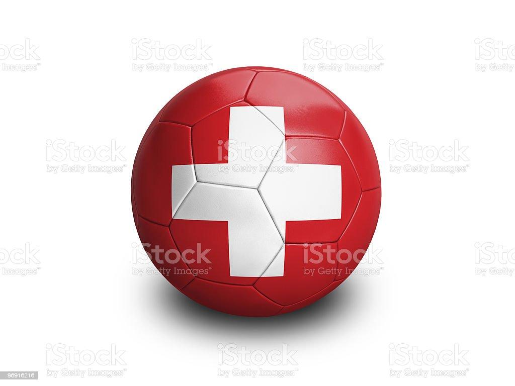 Soccer Football Swiss royalty-free stock photo