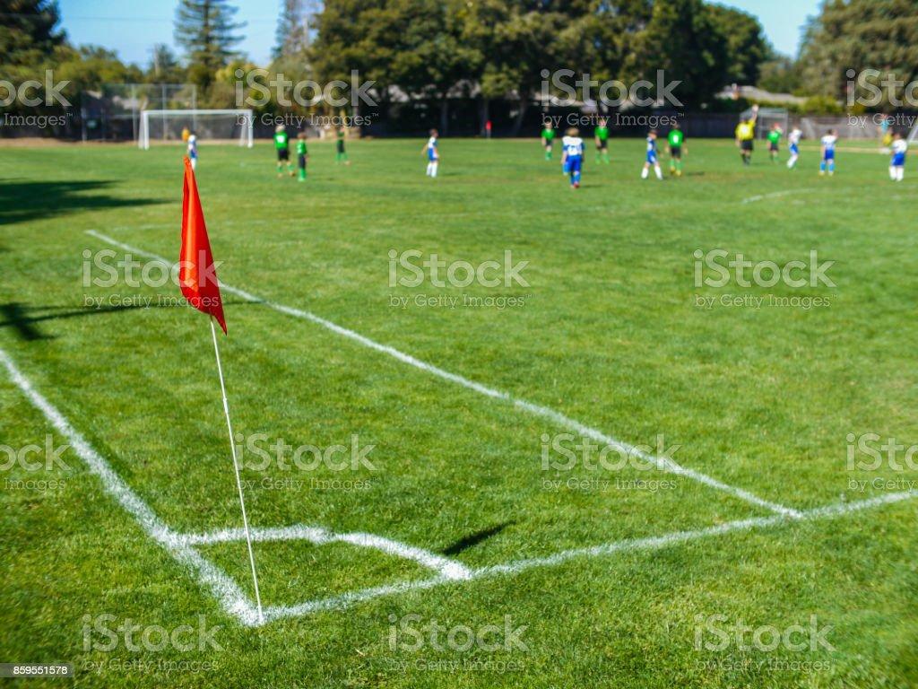 Soccer game - foto stock