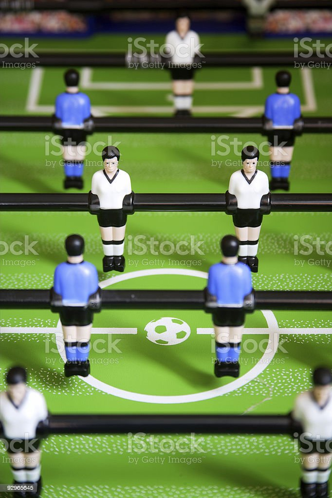 soccer game royalty-free stock photo