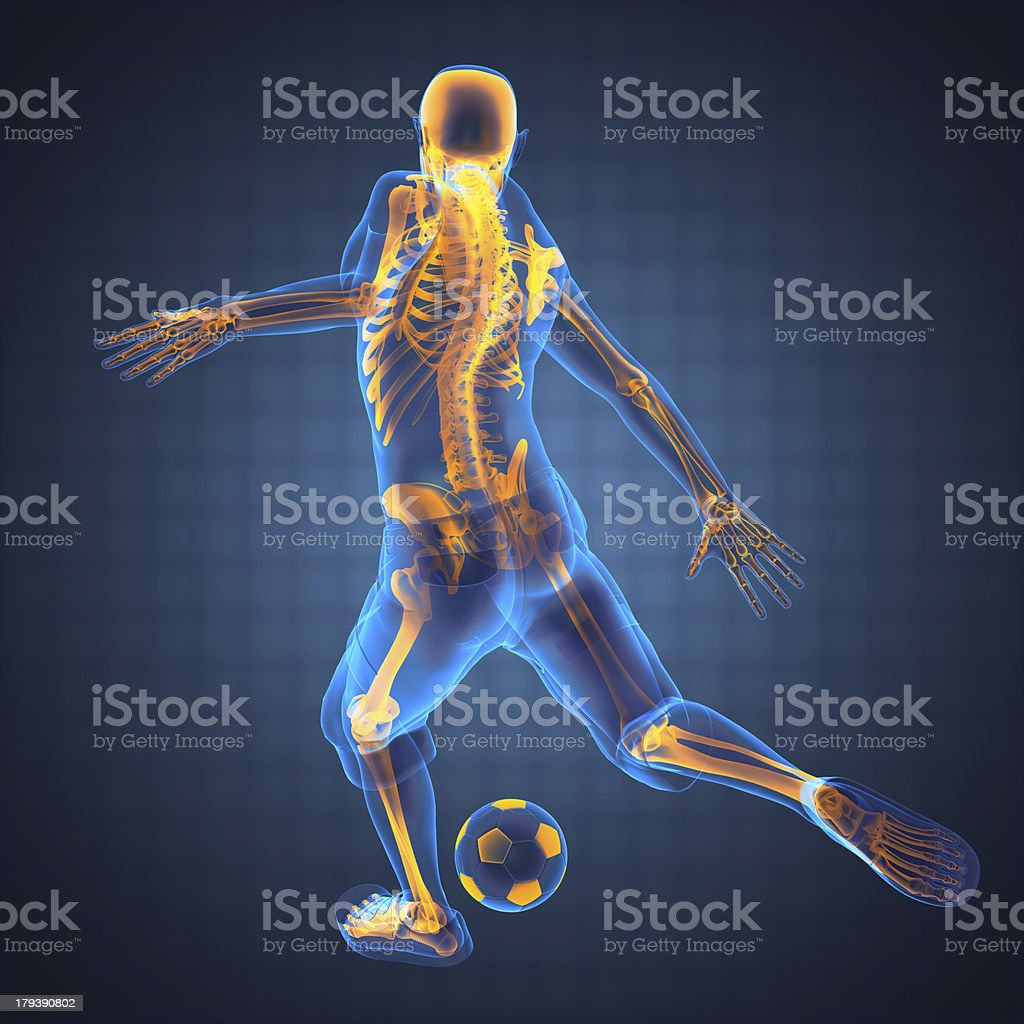 soccer game player stock photo