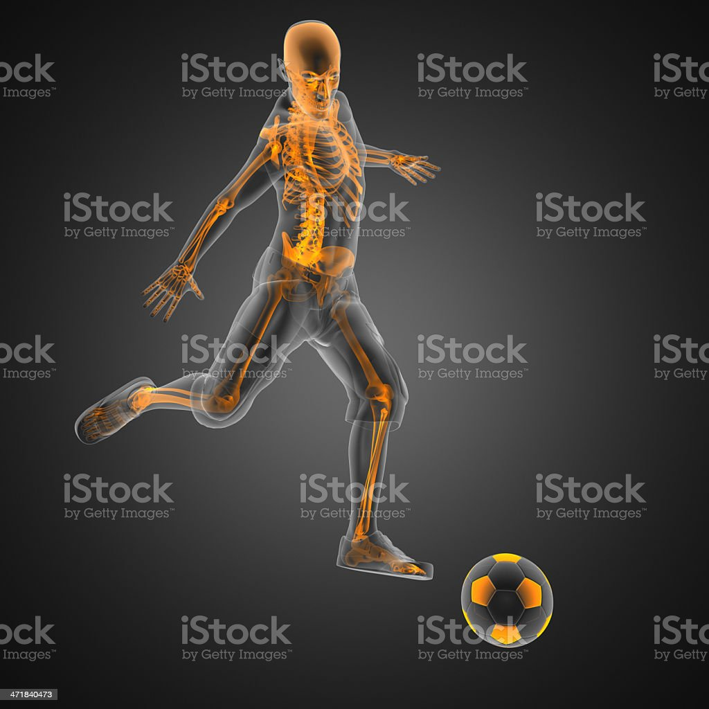soccer game player royalty-free stock photo