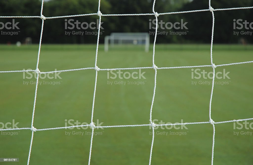 Soccer Goal Net royalty-free stock photo