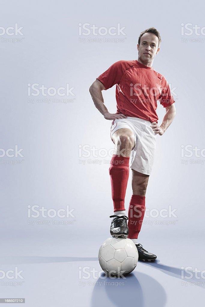 Soccer Hero royalty-free stock photo