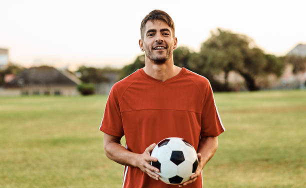 Soccer is my life stock photo