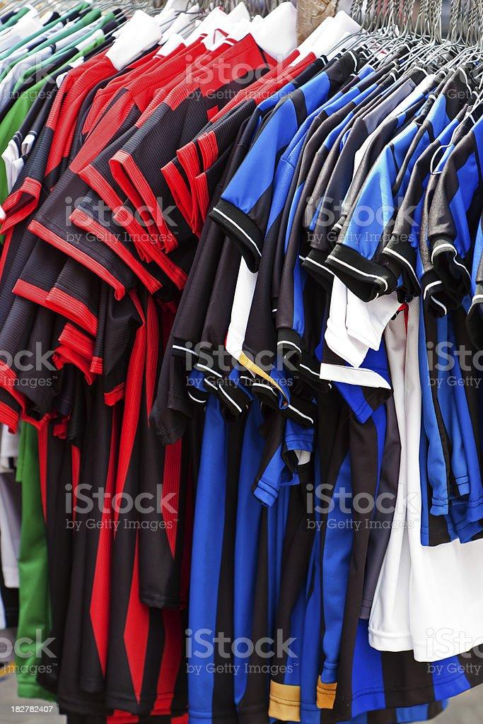 Soccer Jerseys stock photo