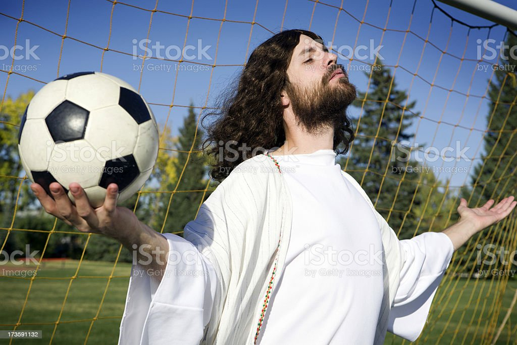 Soccer Jesus - Royalty-free Adult Stock Photo