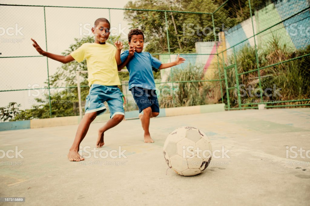 Soccer Kids royalty-free stock photo