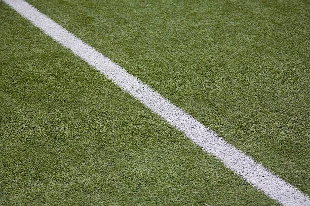 Soccer Line stock photo