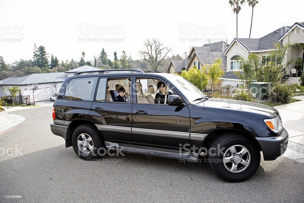 Soccer Mom Further stock photo