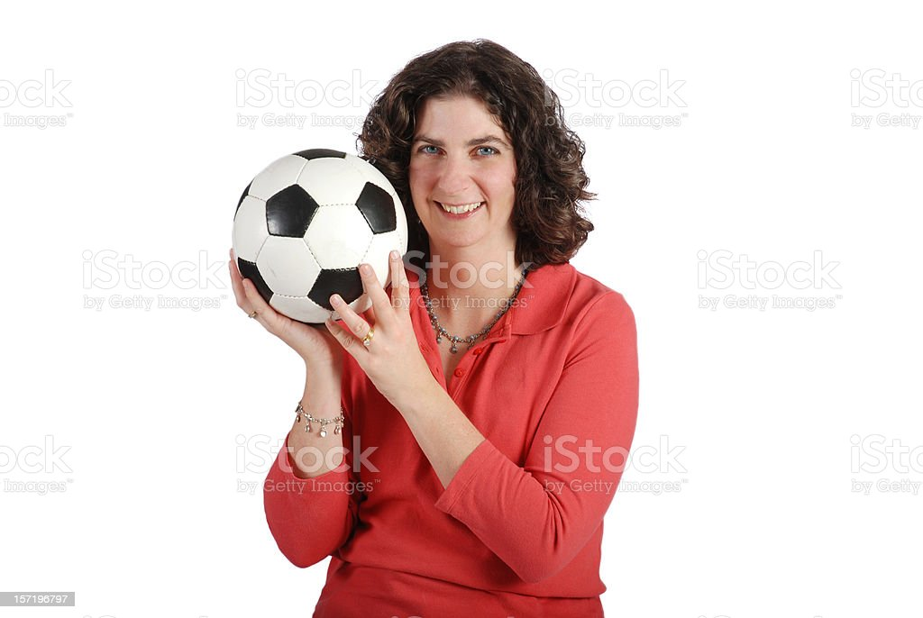 Soccer Mom stock photo