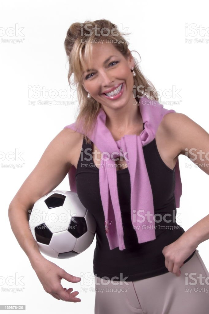 Soccer Mom Smiling Stock Photo  More Pictures Of Activity  Istock-4970