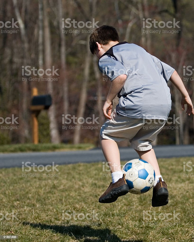 Soccer Moves royalty-free stock photo