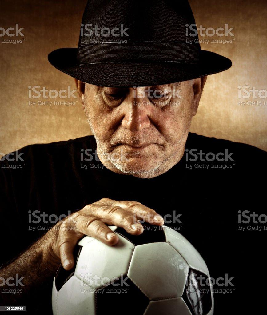 soccer nostalgia royalty-free stock photo