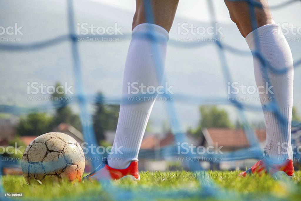 Soccer or football royalty-free stock photo